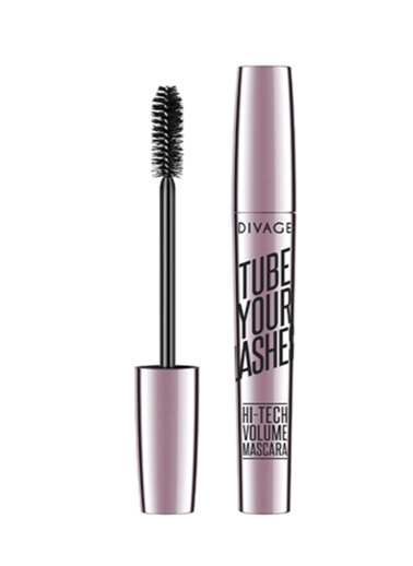 Divage Divage Tube Your Lashes Maskara 02 Gri Siyah